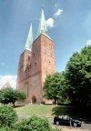 Lübeck (Schleswig-Holstein): the Cathedral - photo by J.Kaman