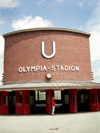 Germany / Deutschland - Berlin: Olympia-Stadion metro station / U-bahn - photo by M.Bergsma