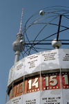 Germany / Deutschland - Berlin: Alexanderplatz - the world clock / Die Welt - Weltzeituhr - photo by M.Bergsma