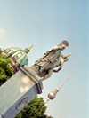 Germany / Deutschland - Berlin: statue on the Schlossbrücke, from which Unter den Linden heads west to the Brandenburg Gate - photo by M.Bergsma