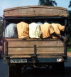 Ghana / Gana - Gomoa Fetteh: local transportation (photo by Gallen Frysinger)