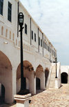 Ghana / Gana - Elmina / A Mina / S�o Jorge da Mina: Portuguese fort and trading station - Unesco world heritage site (photo by Gallen Frysinger)