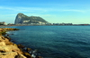 Gibraltar: Gibraltar and Algeciras bay, view from the waterfront in La Línea de la Concepción - photo by M.Torres