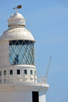 Gibraltar: Europa Point Lighthouse - catadioptric optical system - Strait of Gibraltar - photo by M.Torres