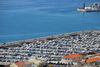 Gibraltar: large marina by the Coaling Island - Algeciras Bay - photo by M.Torres