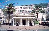 Gibraltar: square - the Convent's guard house - photo by Miguel Torres