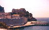 Gibraltar: walls on the rock - Parson's Lodge battery - Rosia bay - photo by Miguel Torres