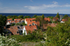 Gotland - Visby: rooftops - view over the old Visby from Sankta Maria Cathedral - photo by A.Ferrari