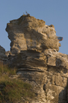 Sweden - Gotland island: rock formation in the south of the island - photo by C.Schmidt