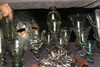 Gotland island: antique Viking design - glassware - photo by C.Schmidt
