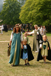 Gotland island - Visby: medieval family - medieval week - photo by C.Schmidt