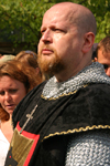 Gotland island - Visby: Viking warrior - medieval week - photo by C.Schmidt