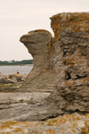 Sweden - Gotland - Fårö island: Eagle Rock formation - photo by C.Schmidt