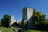 Gotland - Visby: gate on the northern wall - ringwall - photo by A.Ferrari