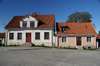 Gotland - Visby: old houses on Sodertorg - photo by A.Ferrari
