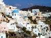 Greek islands - Santorini / Thira: Fira - labirinth - photo by A.Dnieprowsky
