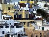 Greek islands - Santorini / Thira / JTR: Fira - close-up - photo by A.Dnieprowsky