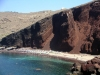 Greek islands - Santorini / Thira: Red Beach - photo by R.Wallace