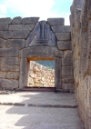 Greece - Mycenae (Peloponnese): the Lion Gate - Unesco world heritage site - photo by G.Frysinger