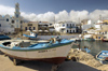 Greece, Kassos / Kasos, Fry: thesmall harbour at Fry known as Bouka is home to a small local fishing fleet - photo by P.Hellander