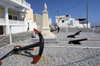 Greek Islands - Kasos - Fry: the newly renovated Square of Kasiot Heroes in the capital of Kassos, Fry - photo by P.Hellander