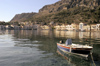 Greece, Kastellorizo: theharbour at Kastellorizo lies calm in the early morning light - photo by P.Hellander