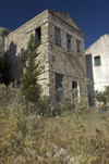 Greece, Dodecanese Islands,Kastellorizo: one of many formerly abandonded old houses now undergoingrenovation on the island - photo by P.Hellander