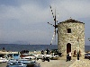Greek islands - Corfu / Kerkira / Kerkyra: windmill  - photo by A.Dnieprowsky