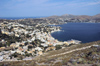 Greece, Dodecanese, Leros:view over Agia Marina from Pandeli Castle - photo by P.Hellander