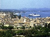 Greek islands - Corfu / Kerkira / CFU: general view of Kerkira - Old Town of Corfu - UNESCO world heritage site - photo by A.Dnieprowsky