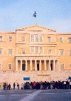 Greece - Athens: Parliament - former Royal Palace - Plateia Syntagmatos - architect: Von Gartner (photo by M.Torres)