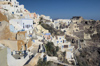 Greece, Cyclades, Santorini:the higgledy piggledy pattern of restored houses in Oia - photo by P.Hellander