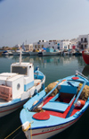 Greece - Paros: Scenic view of Naousa harbour - photo by D.Smith