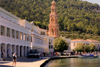Greek islands - Dodecanese archipelago - Symi island - Panormitis - Monastery of the Archangel Michael - Greek Orthodox monastery - photo by A.Dnieprowsky