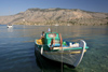 Greek islands - Dodecanese archipelago - Symi island - Panormitis - small fishing boat - photo by A.Dnieprowsky