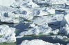 Greenland - Ilulissat / Jakobshavn - packed blocks of ice - Jakobshavn Glacier, part of Ilulissat Icefjord - photo by W.Allgower