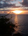 Guadeloupe / Guadalupe / Guadelupe: Pointe-Noir: sunset (photographer: R.Ziff)