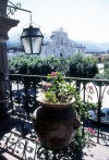 Guatemala - Antigua Guatemala (Sacatepequez province): view from Palace of the Captains-General (photographer: Mona Sturges)