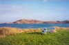 Channel islands - Alderney: Braye bay - Fort Albert and the Arsenal (photo by M.Torres)