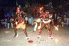 Conakry / CKY : fire dancers (photo by Bernard Cloutier)