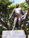 Haiti - Cap-Haitien: Henri Christophe - king of Haiti - statue - photo by G.Frysinger