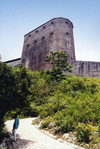 Haiti - Milot, Cap-Ha�tien: Citadelle Laferri�re- Henri Christophe's citadel - mountaintop fortress - UNESCO World Heritage Site - photo by G.Frysinger