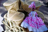 Haiti - Labadee - baskets and doll - photo by F.Rigaud