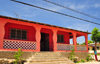 Fort-Libert�, Nord-Est Department, Haiti: pink house on the main street - Grande Rue - photo by M.Torres
