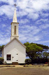 Hawaii - Molokai'i: St Joseph Catholic Church - photo by G.Frysinger