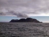 McDonald Island: plume of volcanic steam (photo by Francis Lynch)