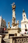 Hungary / Ungarn / Magyarorsz�g - Szeksz�rd (Tolna province): column on B�la square (photo by Miguel Torres)