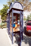 Hungary / Ungarn / Magyarorsz�g - Szeged: arte deco phone booth (photo by Miguel Torres)