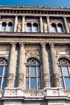 Hungary / Ungarn / Magyarorsz�g - Budapest: Hungarian Academy of Sciences - detail (photo by Miguel Torres)