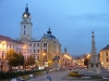Hungary / Ungarn / Magyarorsz�g - P�cs (Baranaya province): Szech�nyi Square at twilight (photo by J.Kaman)